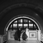 Chicago Cultural Center Wedding, Michigan Street