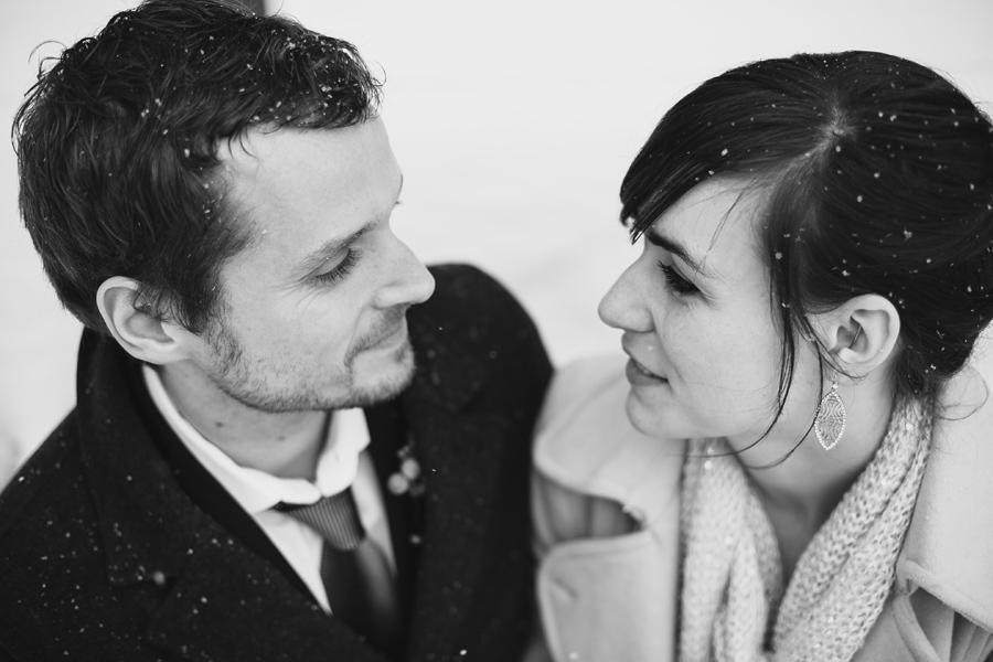 Snowy Chicago Wedding