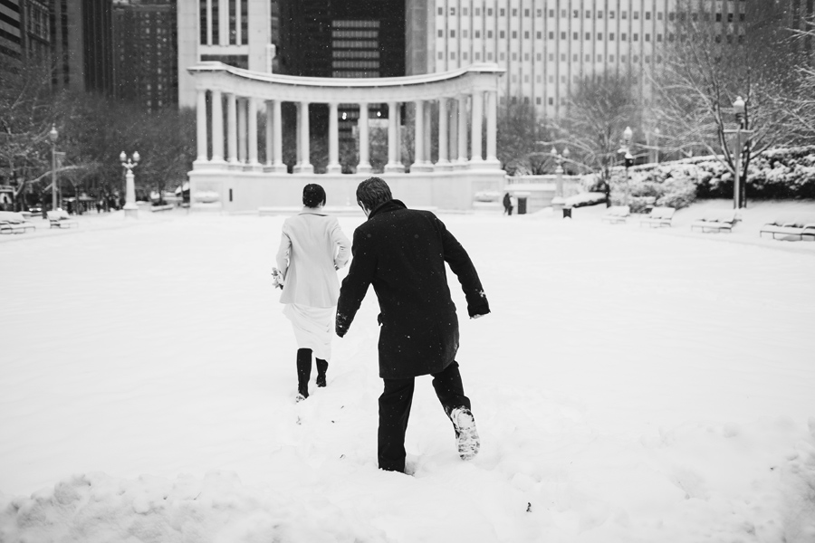 Winter Chicago Wedding