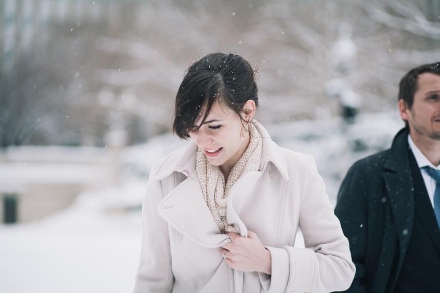 Winter Chicago Wedding