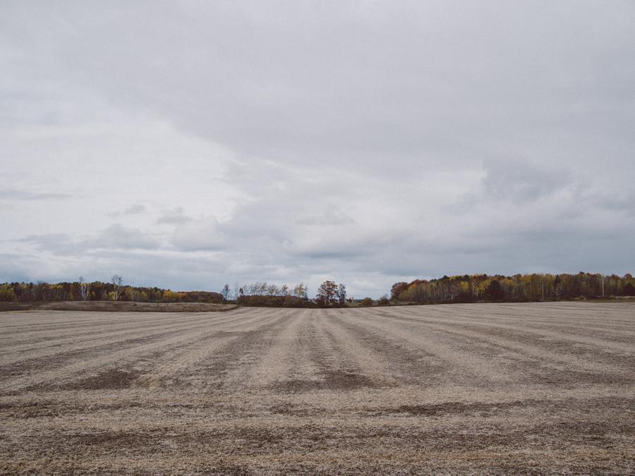 Door County Farm in fall.