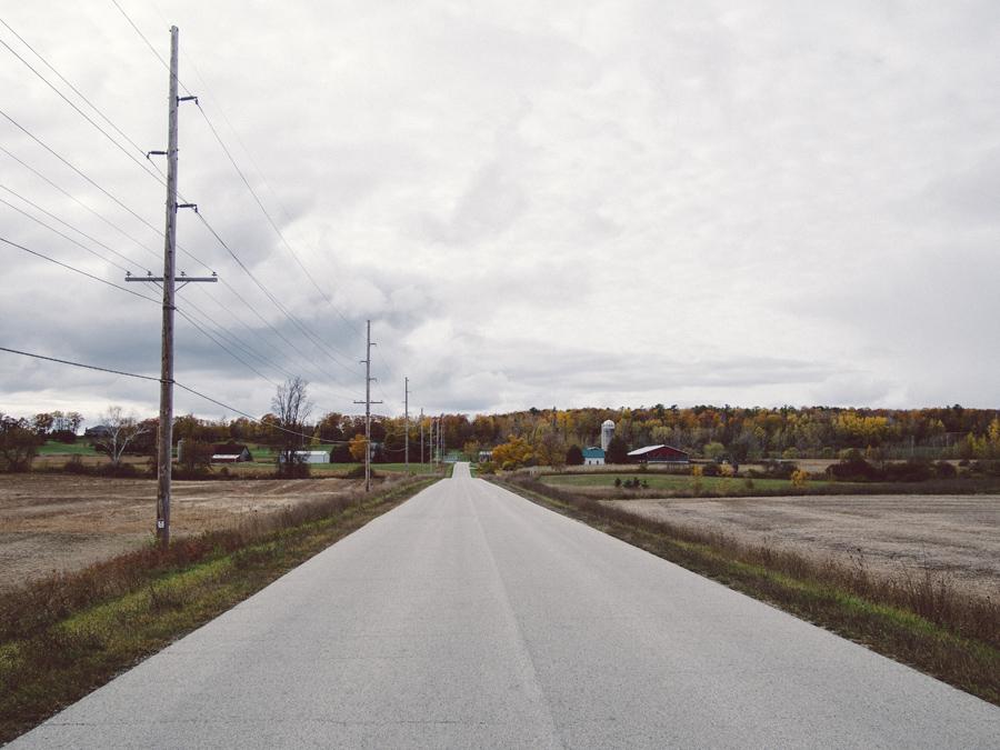 Door county road.