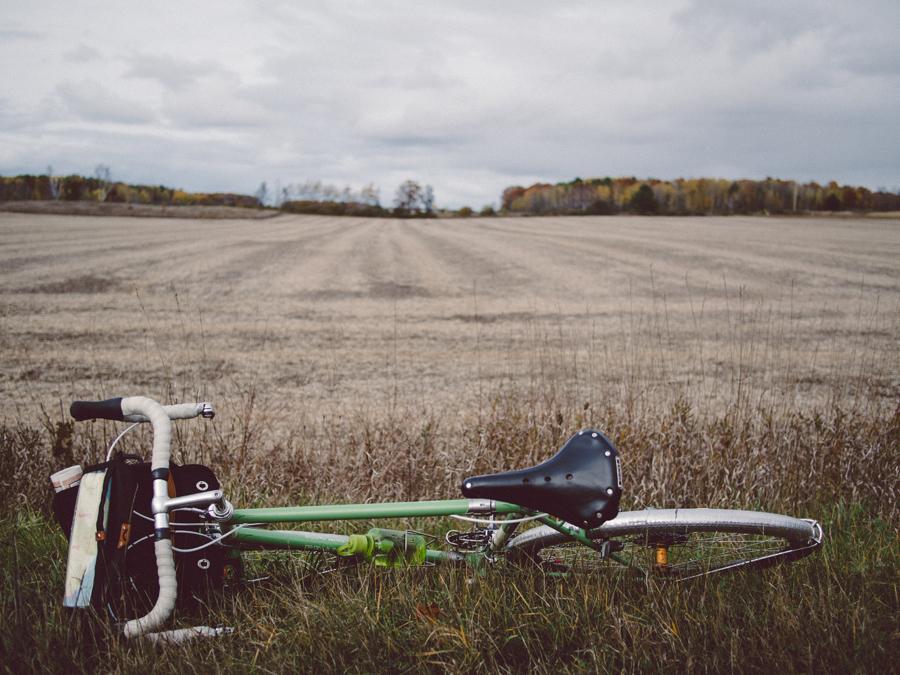 Bicycle touring in Door County