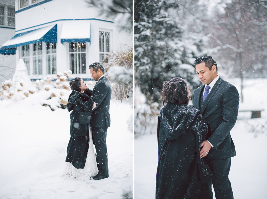 Chicago Winter Wedding Photographer