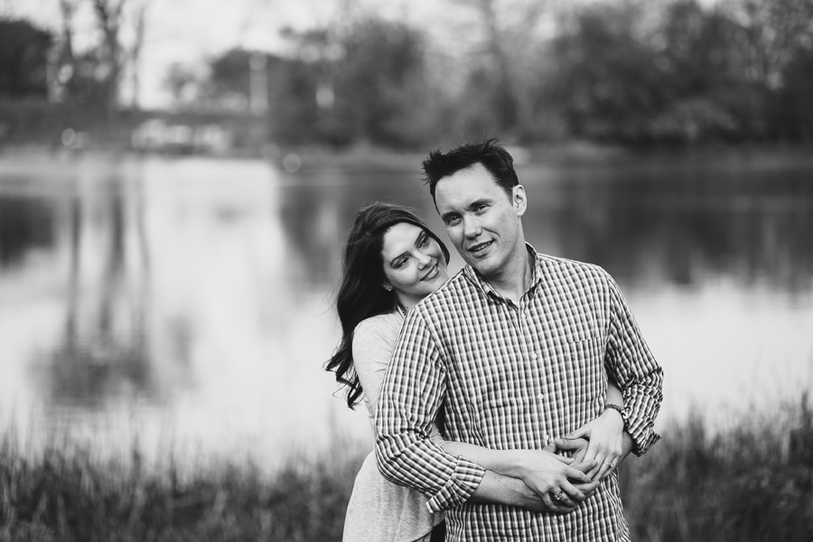 Engagement Pictures at Lilly Pond Chicago