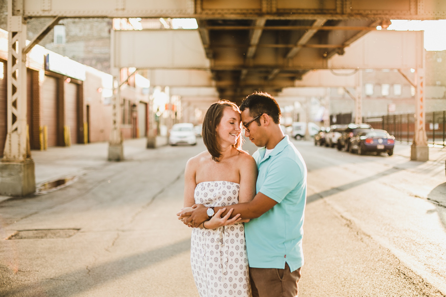 Engagement Photos in Chicago Natural Light Mark Trela Photography