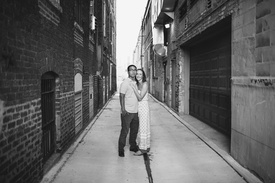 City Themed Engagement Photos Chicago