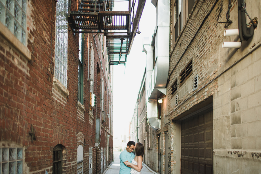 Chicago Sunset Engagement Photographer