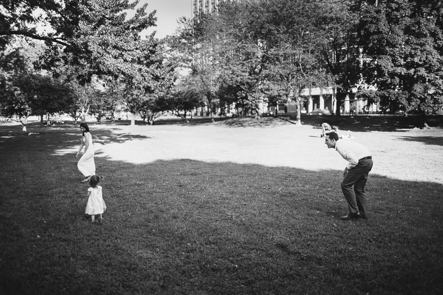 Documentary style family photos