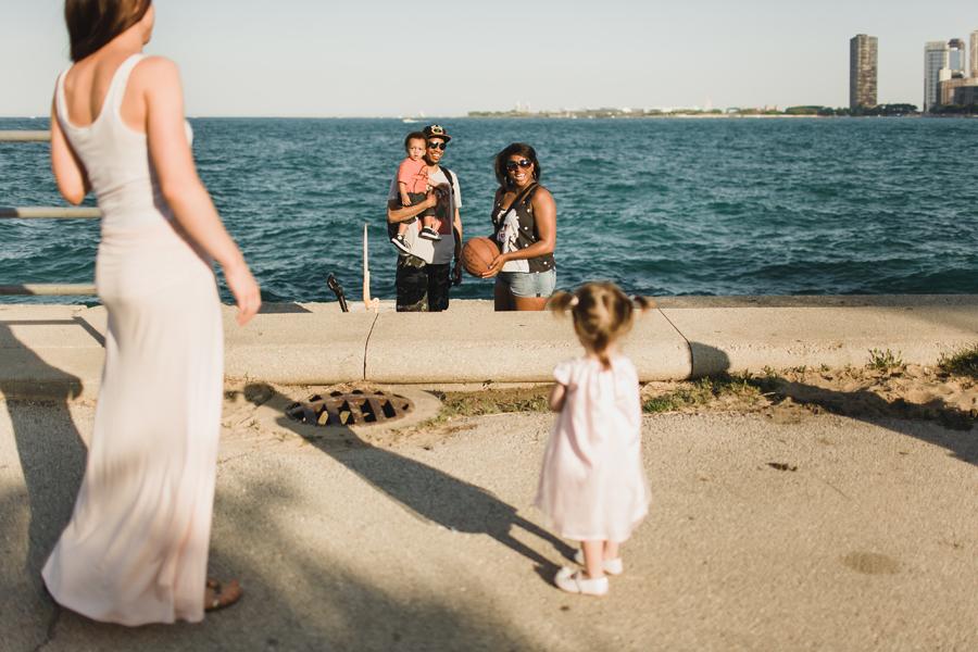Family Photographer on the beach.