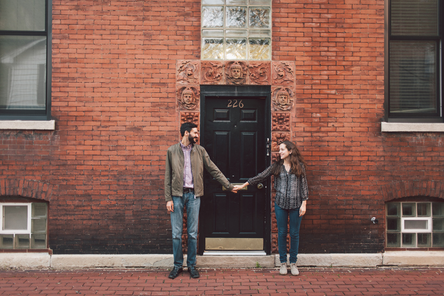 City Engagement Photography Chicago