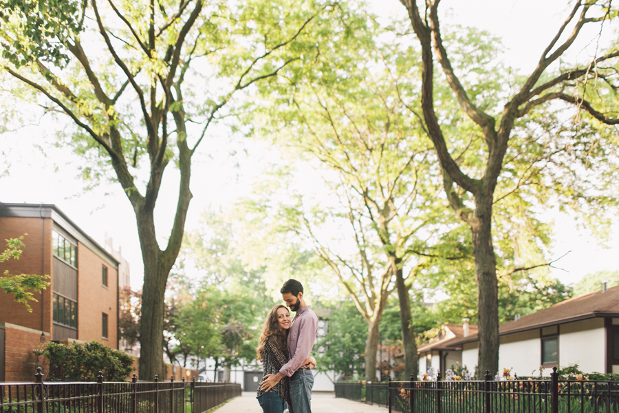 Chicago Life Style Engagement Photography