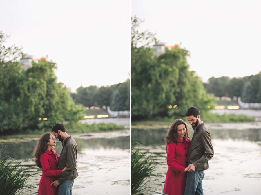 Documentary wedding and engagement photos