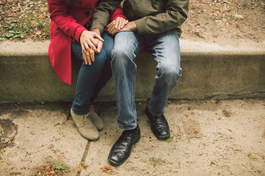 Romantic Engagement Photos Lincoln Park Chicago