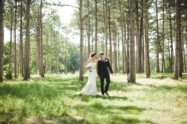 Morton Arboretum Wedding Photos