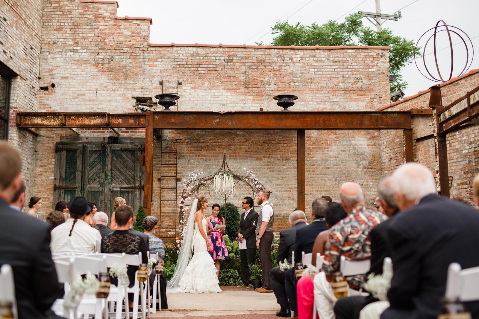 Chicago and Destination Wedding Photographer   Outdoor Garden ...