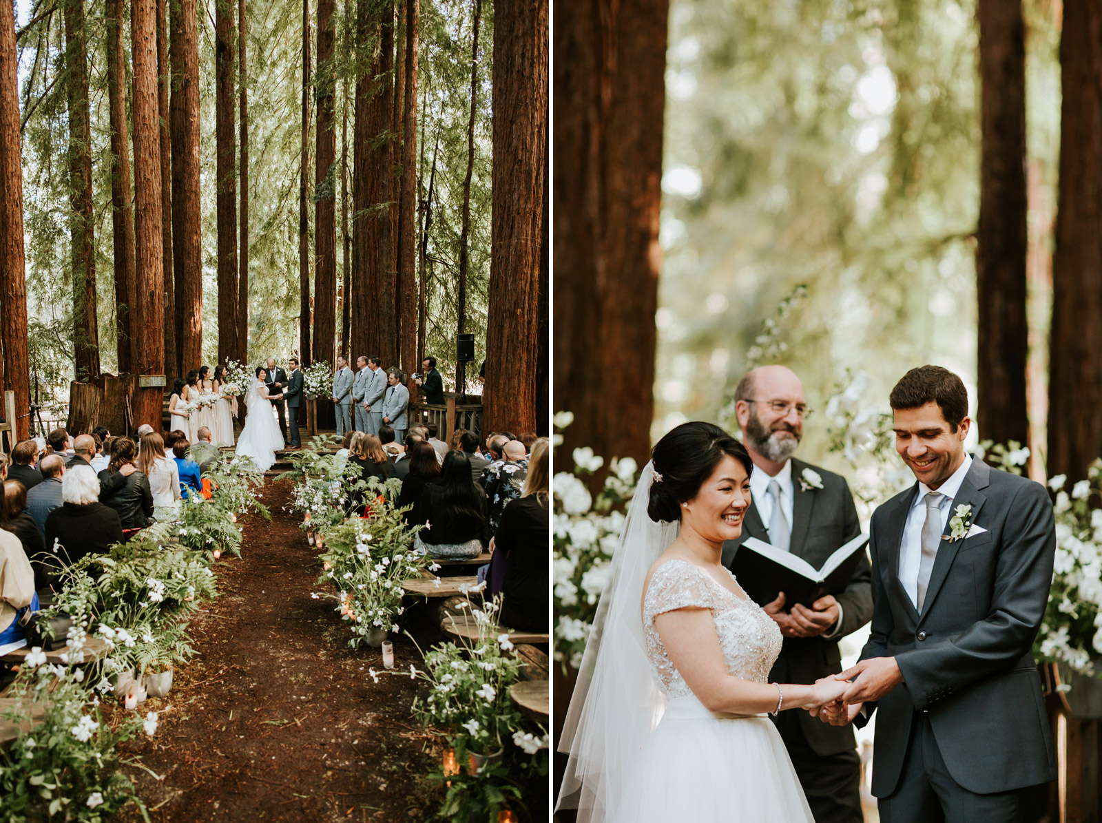 Camp campbell california redwoods wedding amy nick chicago big junglespirit Images
