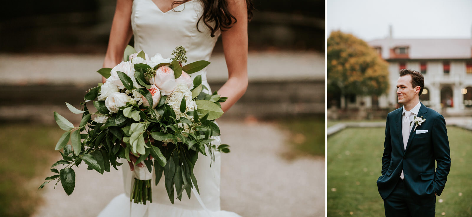 Fall inspired bride bouquet