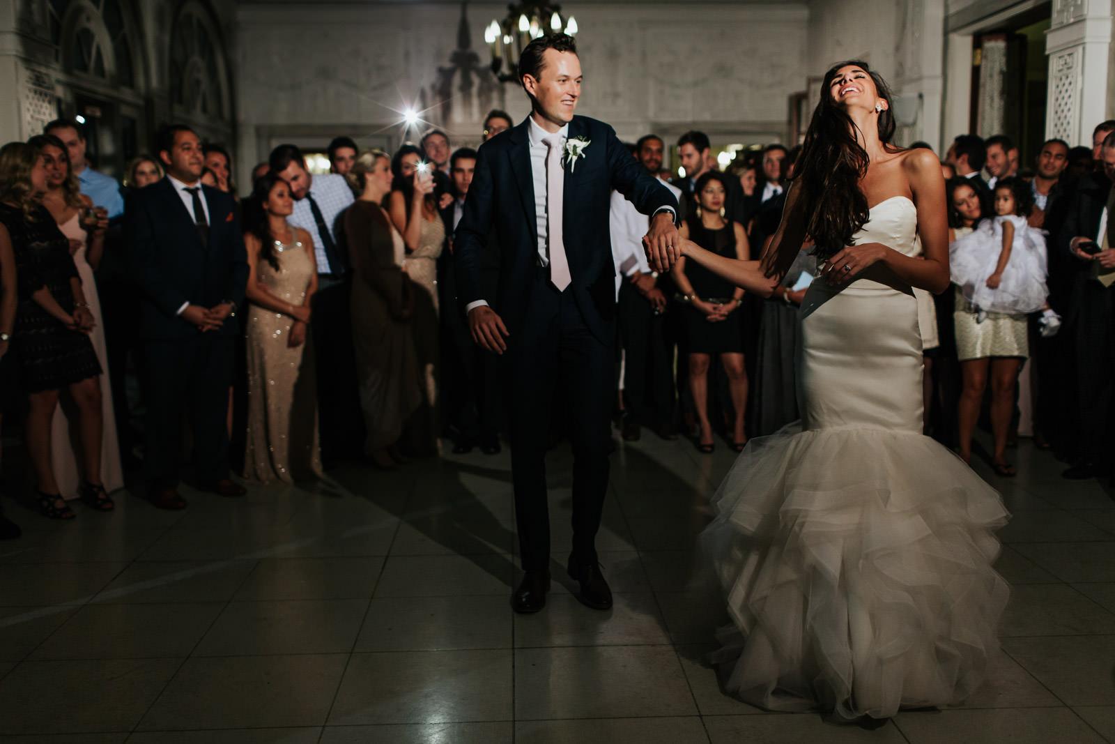 First Dance Wedding Photos in Armour House