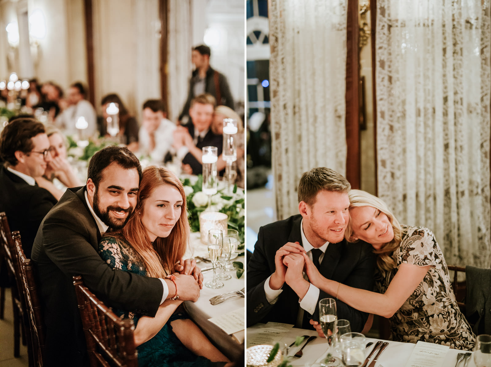 wedding reception in armour house