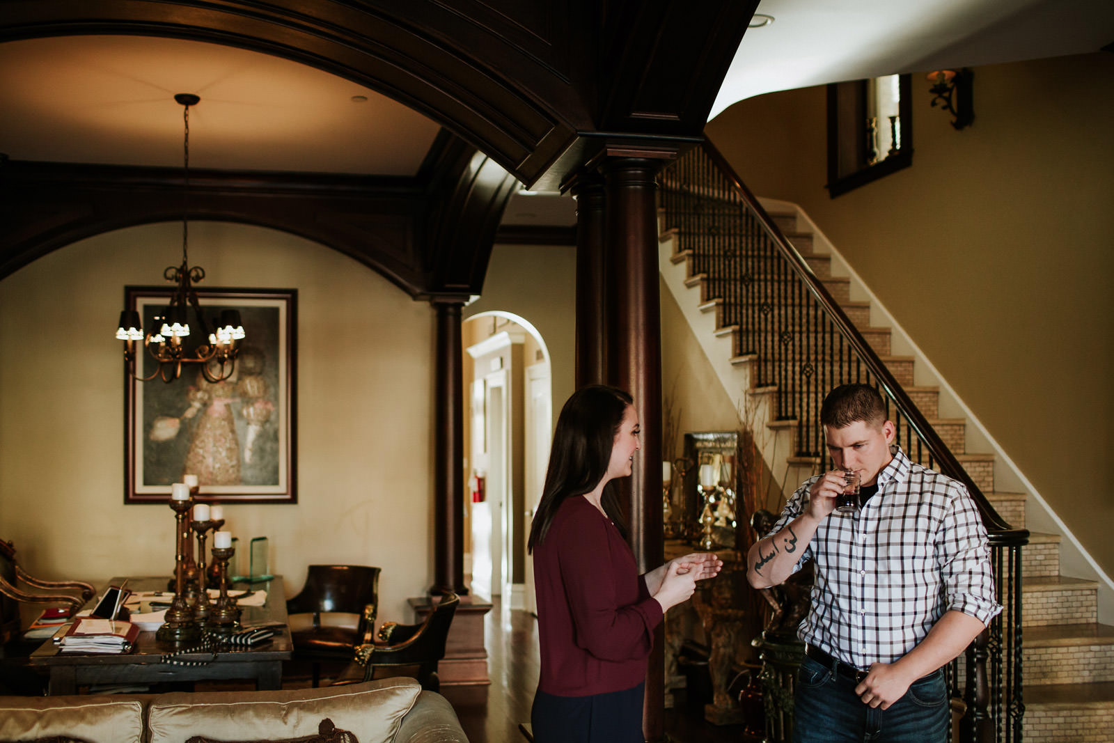 Chicago rental house engagement