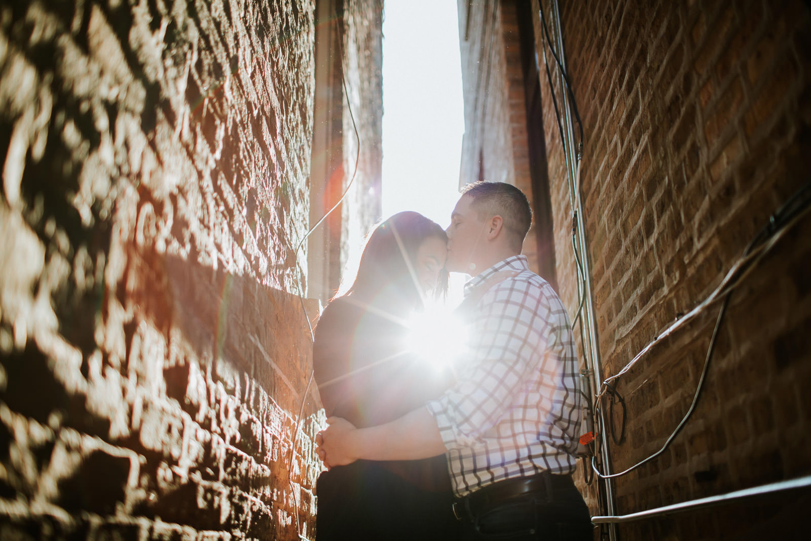 Lincoln park engagement photographer