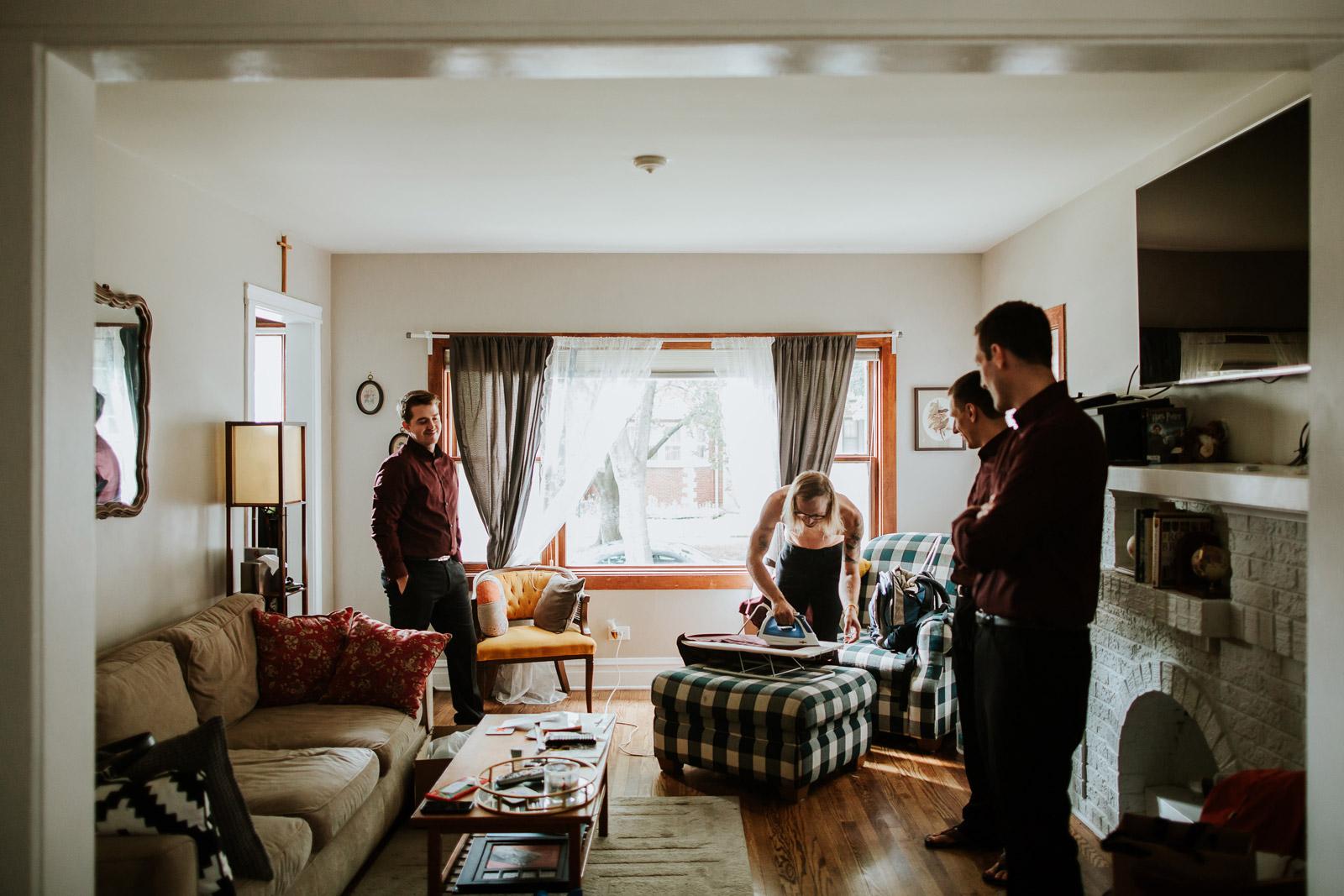 Documentary Chicago Wedding Photographer