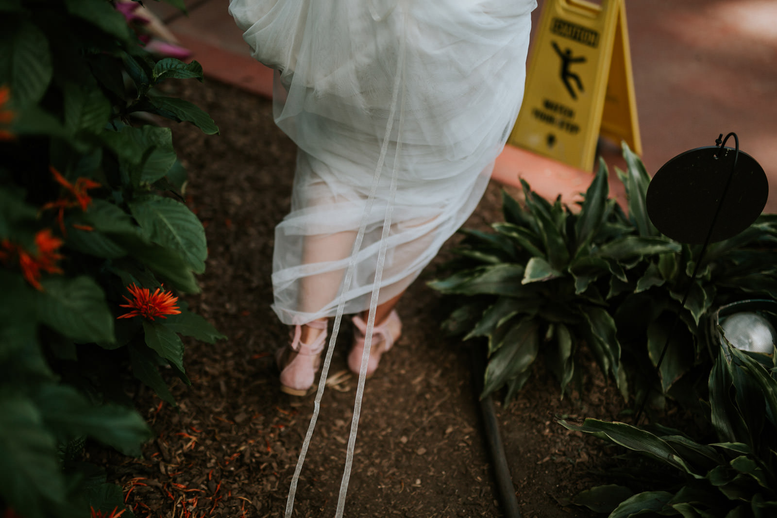 Garfield Park Conservatory Wedding Photography