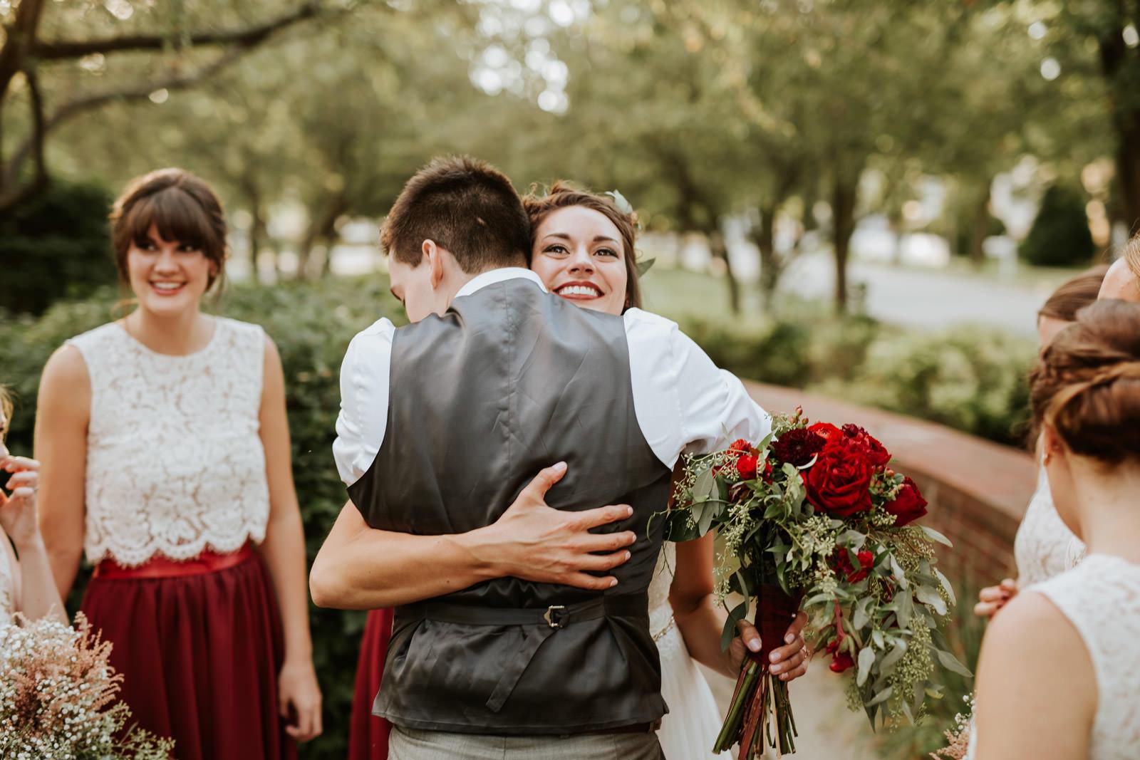 Garden wedding photography chicago Illinois
