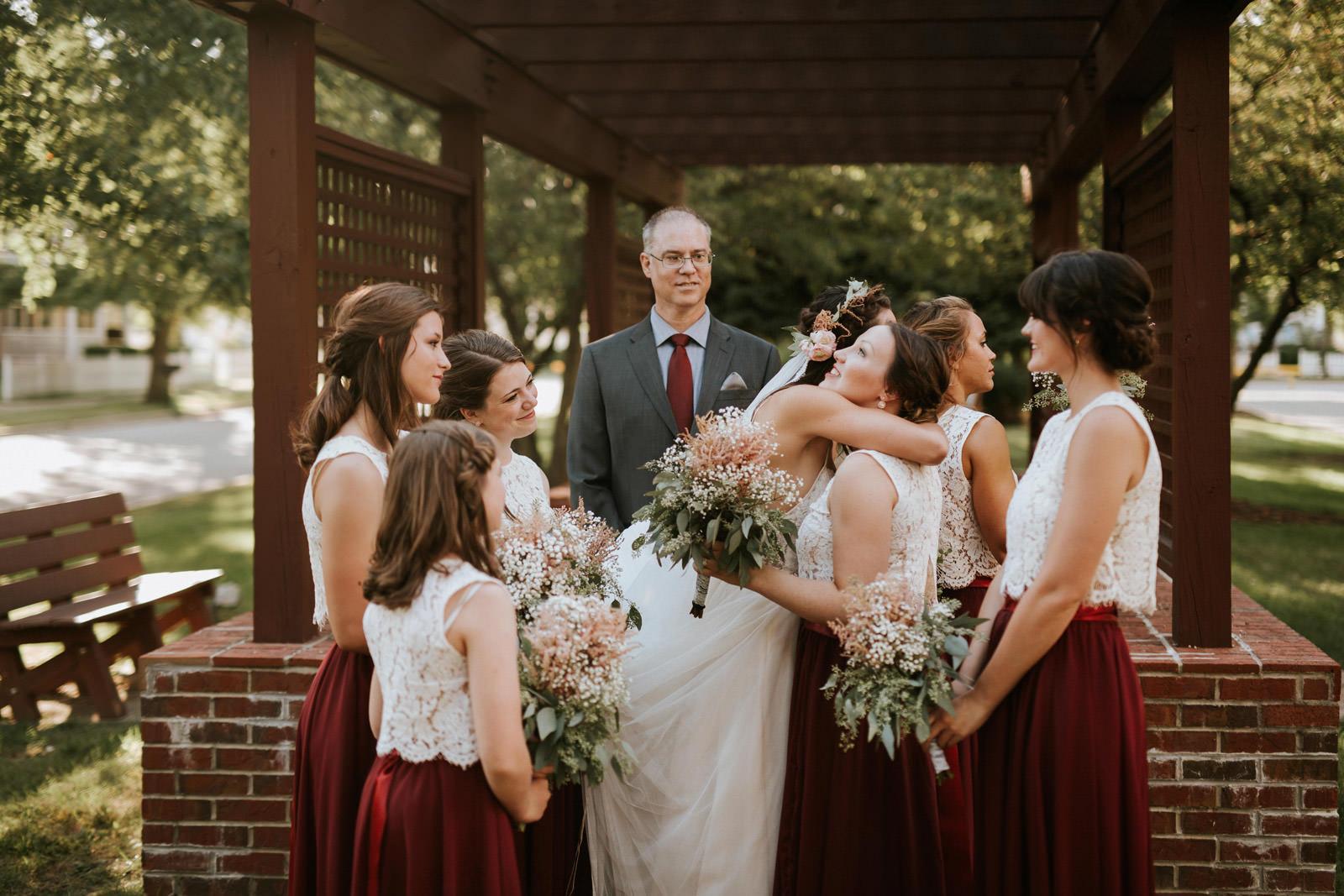 Outdoor California wedding ceremony photography
