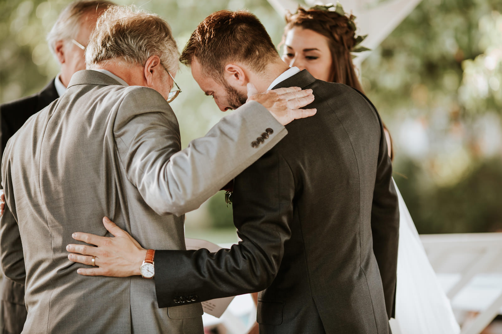 Emotional Wedding Ceremony Pictures - California Chicago