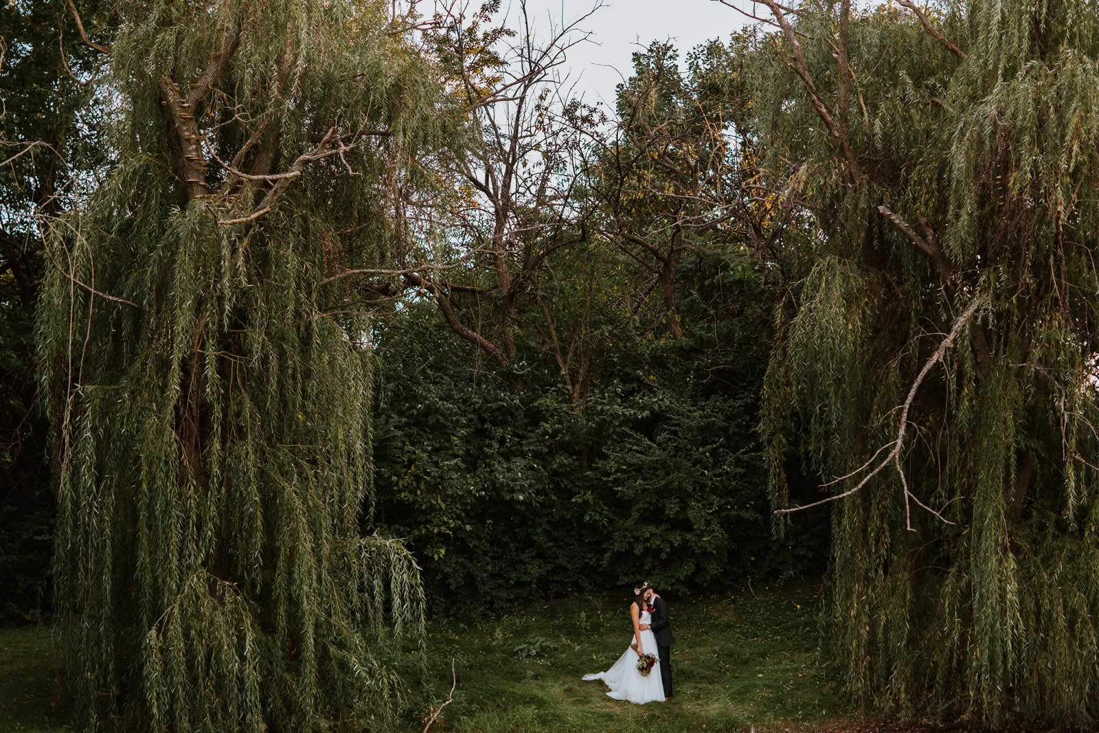 Chicago Outdoor Backyard Wedding