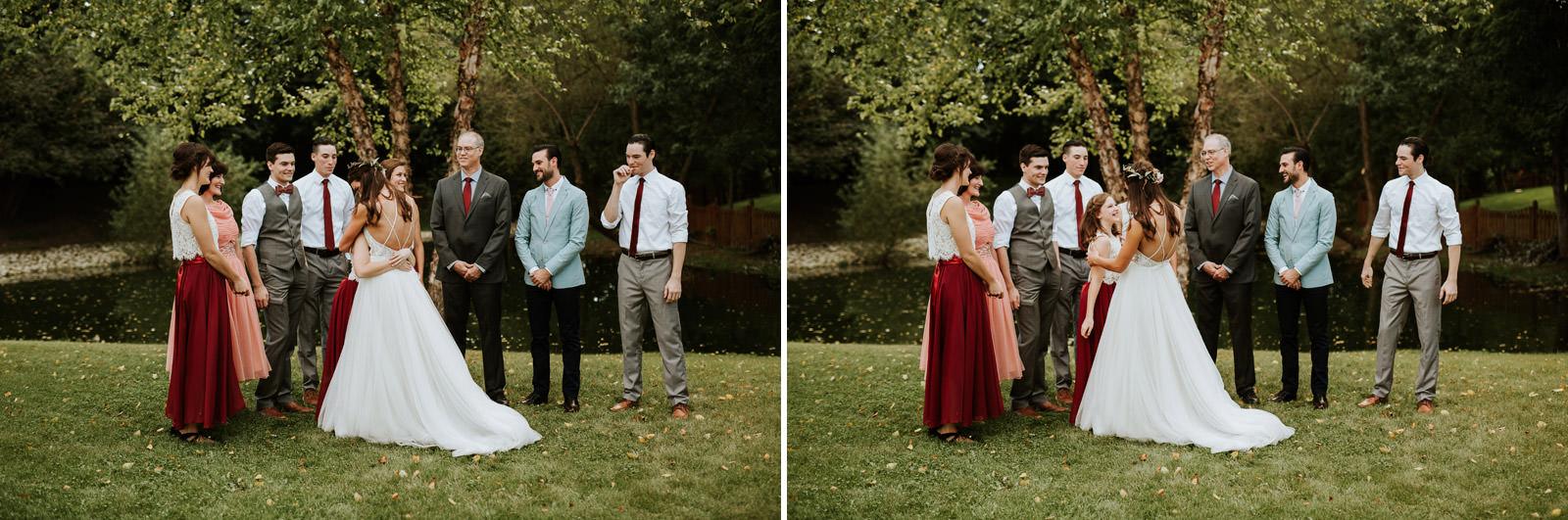 Backyard wedding chicago