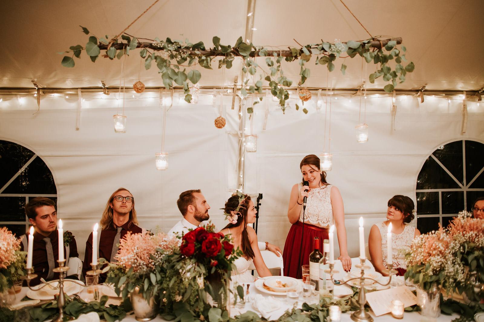 Chicago Backyard Outdoor wedding photos