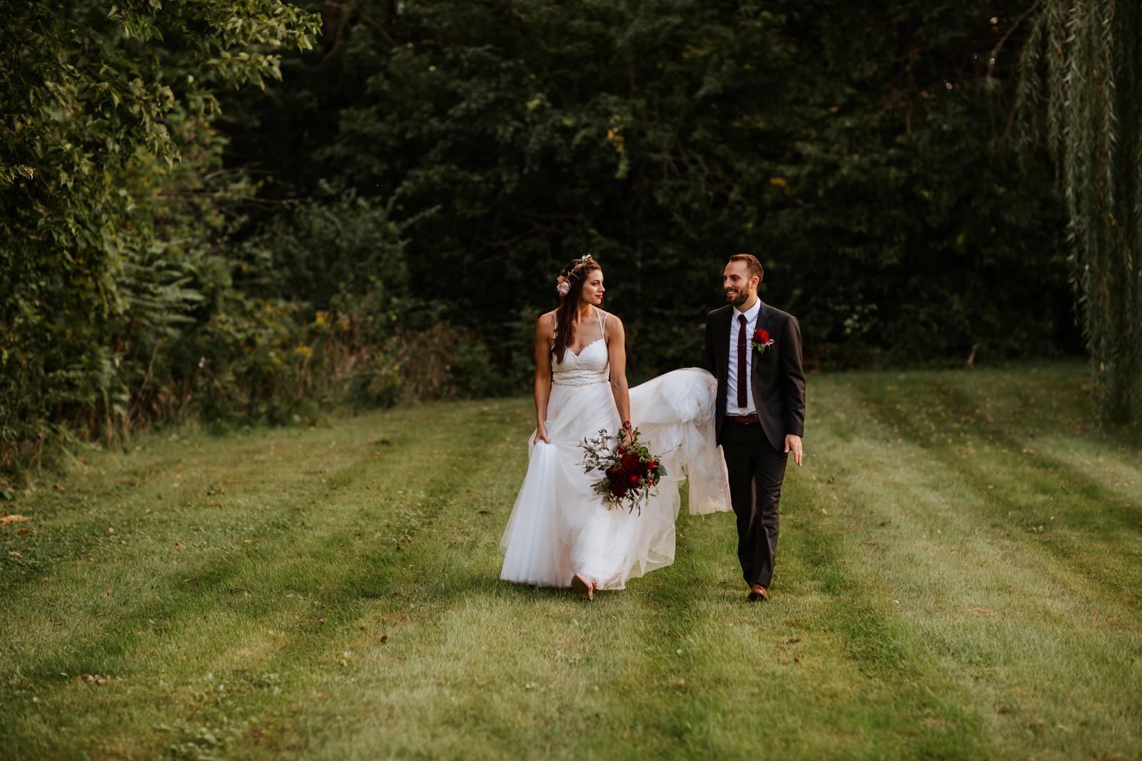 Boho Bride Outdoor Wedding Photography