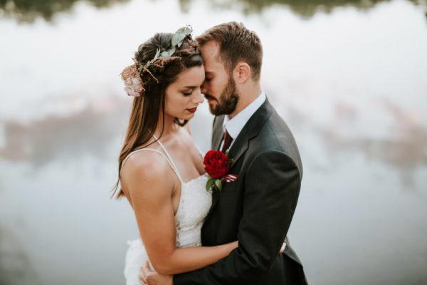 Intimate Backyard Wedding Chicago | Chloe + Josh