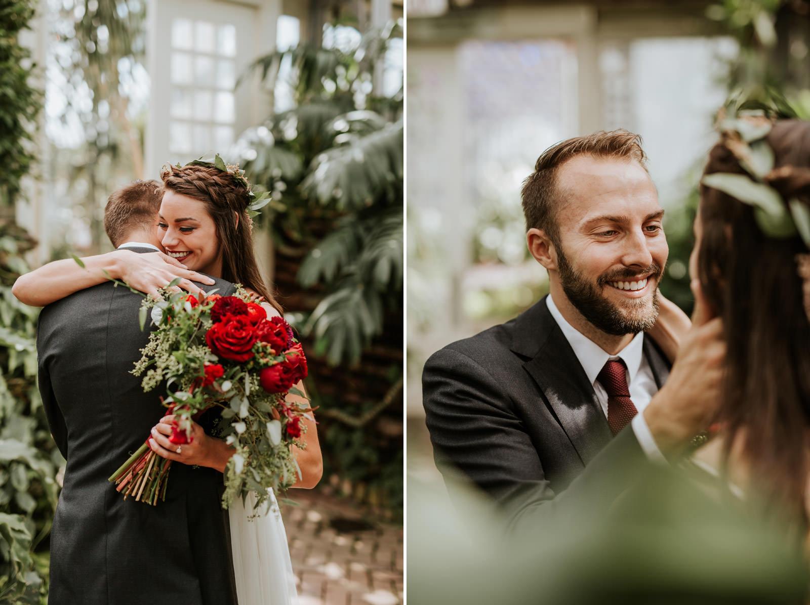 Garfield Conservatory Wedding Photographer