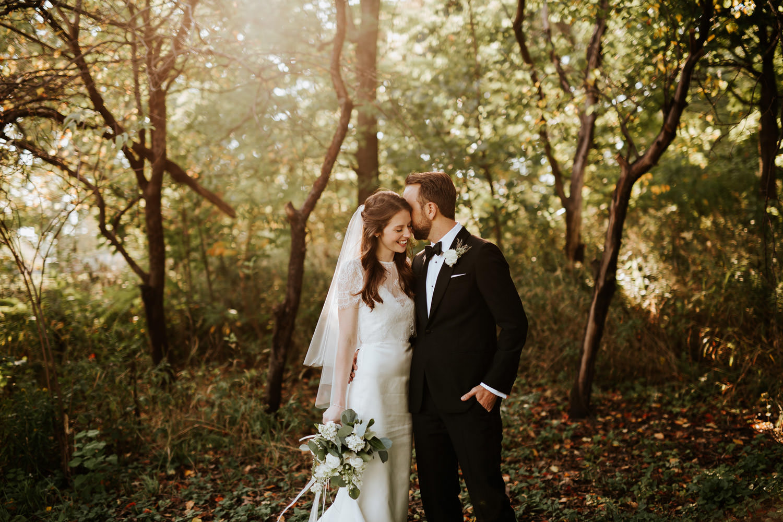 Columbus Park Refectory wedding photos