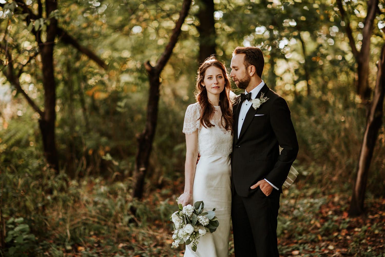 wedding at Columbus Park Refectory