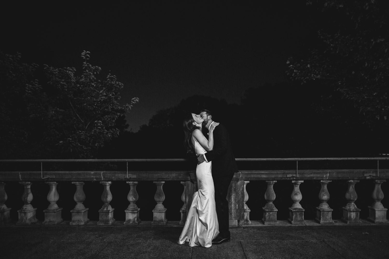 fall wedding at Columbus Park Refectory