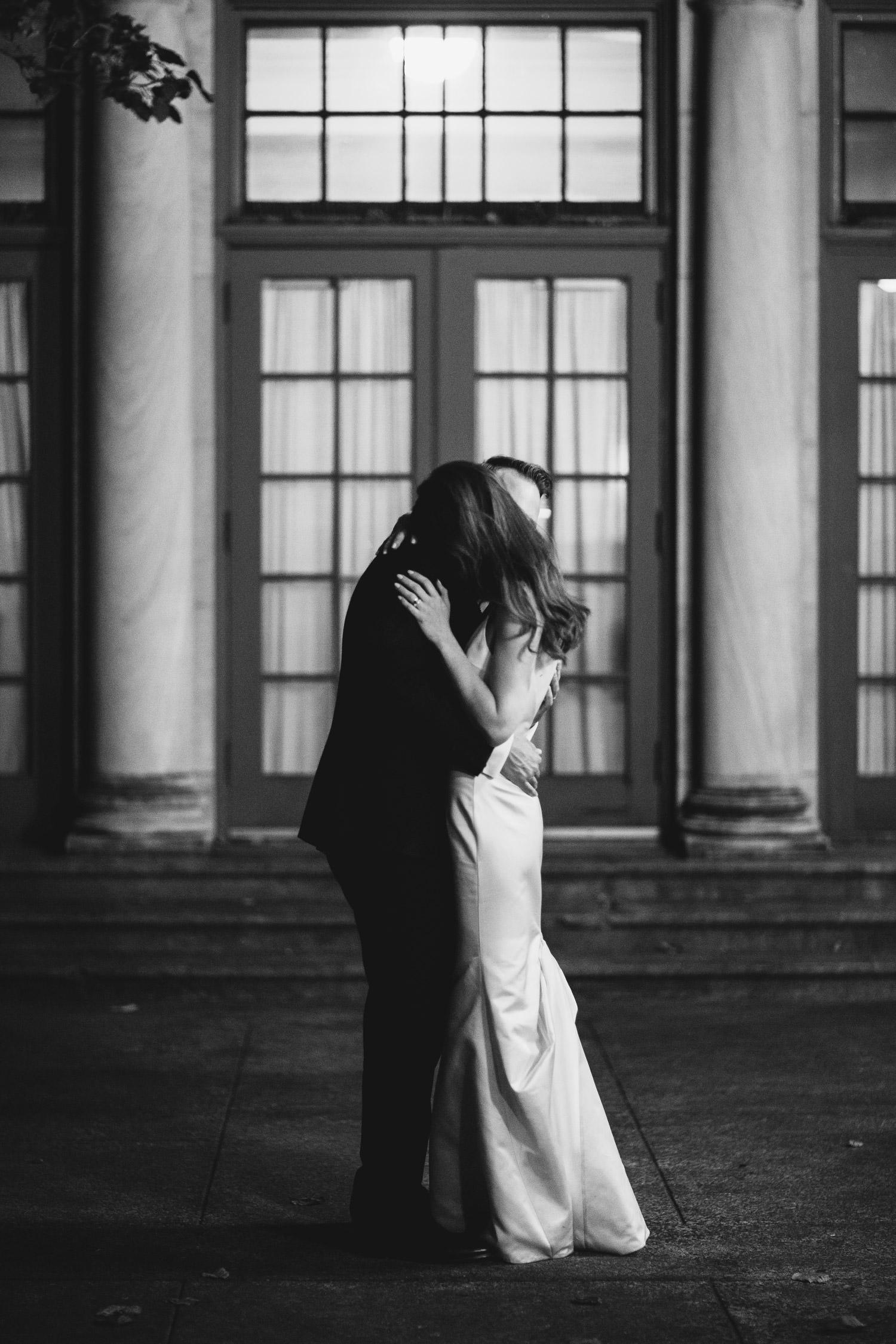 October wedding at Columbus Park Refectory