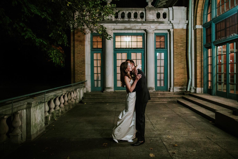 Columbus Park Refectory wedding in October