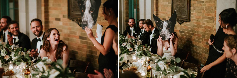 speeches at Columbus park wedding
