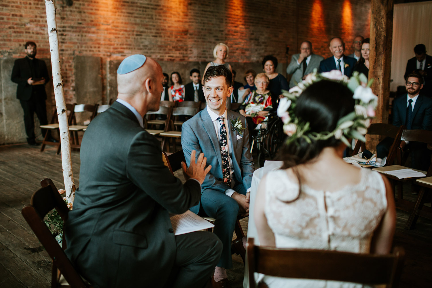 Jewish wedding in Gallery 1028