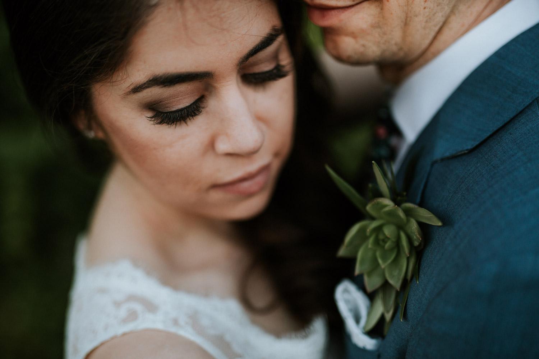 Fine art wedding portrait