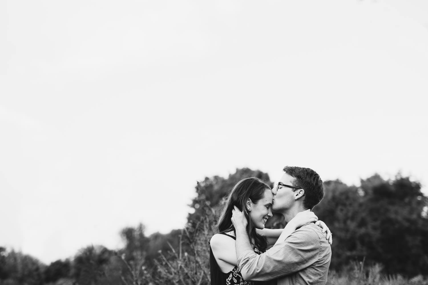 intimate engagement photographer
