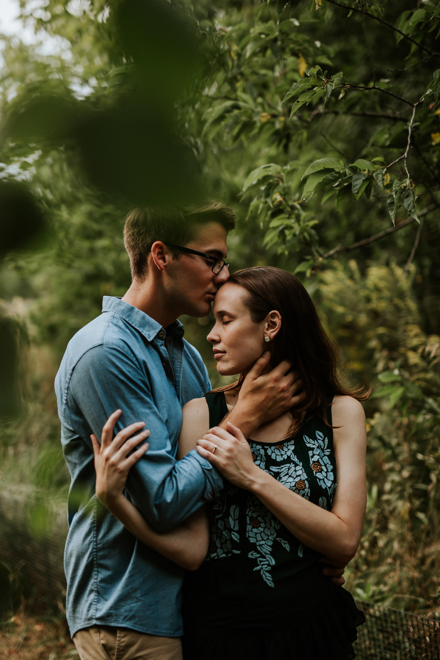 fine art engagement photographer chicago