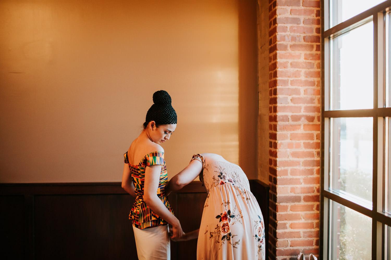 multiracial wedding photographer chicago