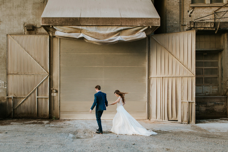 Prairie Production wedding. Fine art portrait taken by Mark Trela Photography