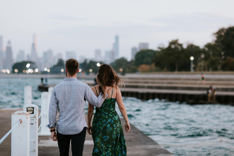 chicago wedding photography, engagement session